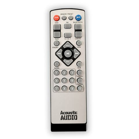 Remote for Acoustic Audio AA5170 Home Theater 5.1 Bluetooth Speaker System