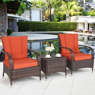 Size 3 Piece Sets Wicker Patio Furniture Find Great