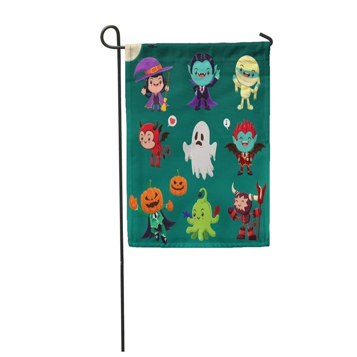 Vintage Halloween Demon Witch Vampire Mummy Ghost Alien Monster Garden Flag Decorative Flag House Banner 12x18 Inch On Sale Overstock 31343733 This wiki is still developing, so feel free to help out. overstock com
