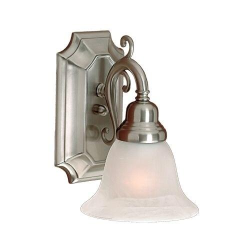 Millennium Lighting 371 1 Light Bathroom Sconce - satin nickel