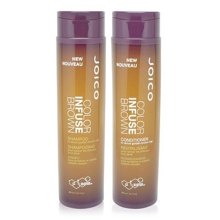 Joico Color Infuse Golden Brown Shampoo and Conditioner 10.1 ounces