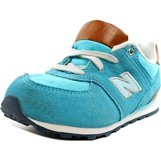 New Balance KL574 Youth  Round Toe Suede  Running Shoe