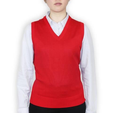 Ladies Classic Sweater Vest