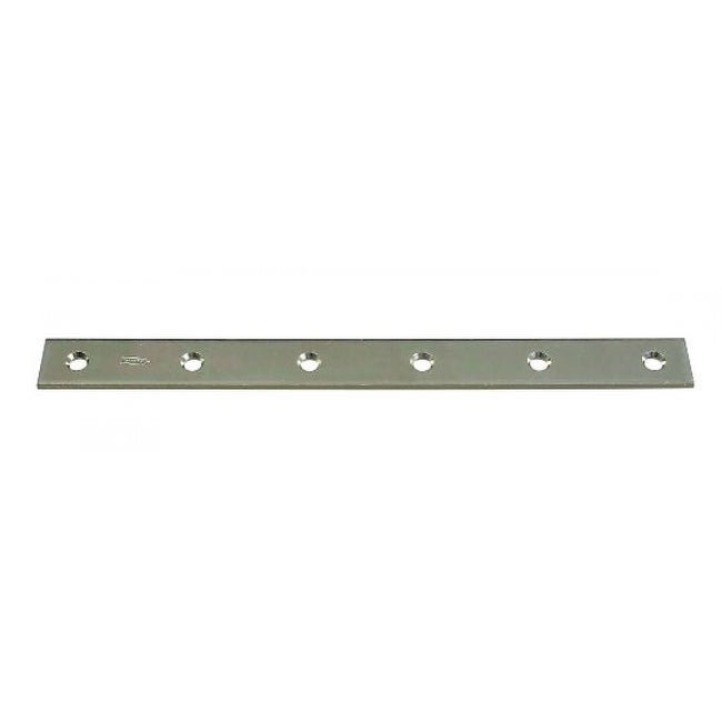 National Hardware N220-335 Mending Plate, 12 x 1-1/8, Zinc Plated