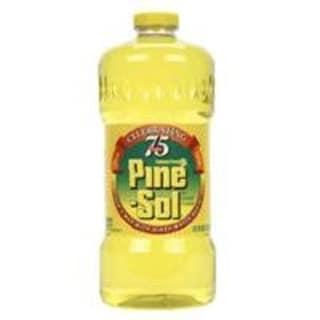 Pine Sol 40239 Disinfectant, Lemon Scent, 60 Oz