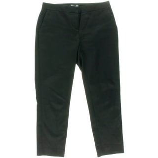 Vince Camuto Womens Petites Straight Leg Stretch Ankle Pants - 6P