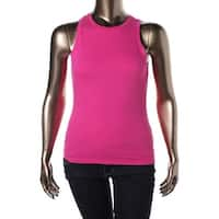 Energie Womens Juniors Tank Top Cotton Crew Neck