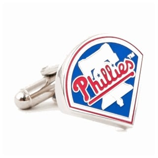 Silver Plated Philadelphia Phillies Cufflinks