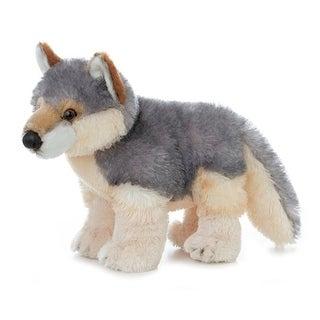 "Willy 12"" Plush Wolf by Aurora - 30503 - grey"