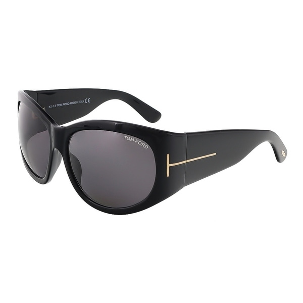 Tom Ford FT0404/S 01A Felicity Black Rectangle Sunglasses - 61-15-125