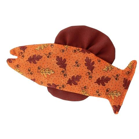 Ascentix Organic Catnip Catfish Cat Toy - one size