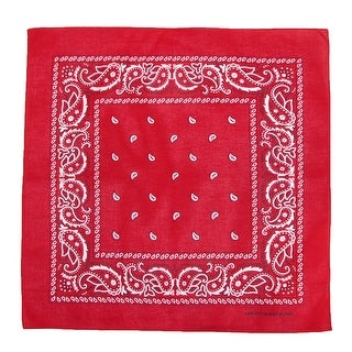 CTM® Cotton Paisley All-Purpose Bandana - One size