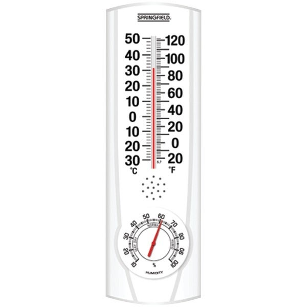 Springfield 90116 Plainview I/O Thermometer & Hygrometer