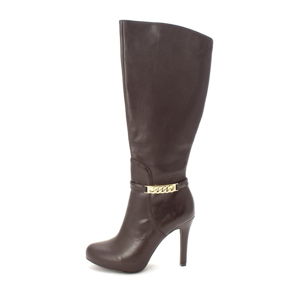 Alfani Women's Jaymee Leather Knee High Boot - 7.5