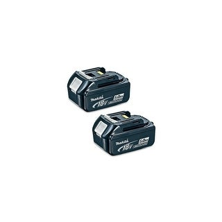 Replacement For Makita BL1850 5000mAh Power Tool Battery (2 Pack)