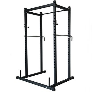 Akonza Power Rack Squat Deadlift Lift Cage Bench Racks Stand Cross Fit Pull Up w/ Weight Holder