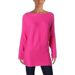 Vince Camuto Womens Casual Top Boatneck Knit