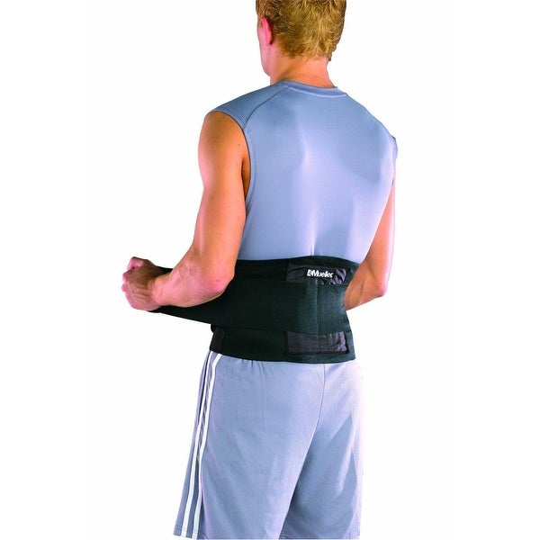 Mueller Adjustable Back Brace - Black