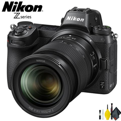 Nikon Z7 Mirrorless Digital Camera with 24-70mm Lens Intl Model