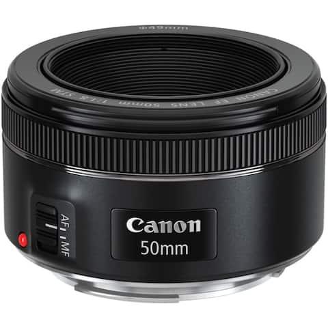 Canon EF 50mm f/1.8 STM Lens (International Model)