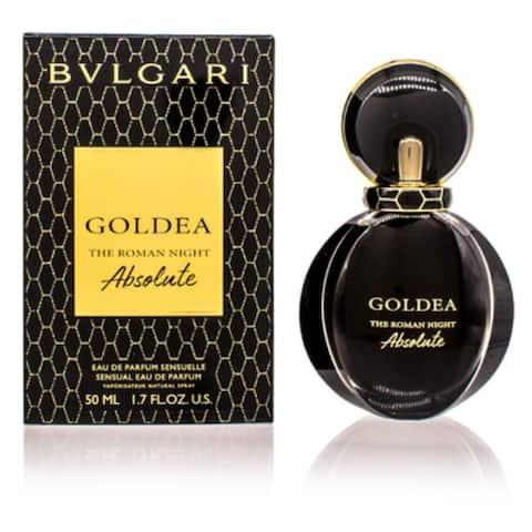 Goldea The Roman Night Absol./Bulgari Edp Spray 1.7 Oz (50 Ml) Women'S