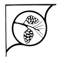 Pinecone - Shelf Brackets Small