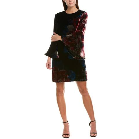 Trina Turk Astral Silk-Blend Shift Dress