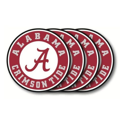 Alabama Crimson Tide Coaster Set - 4 Pack