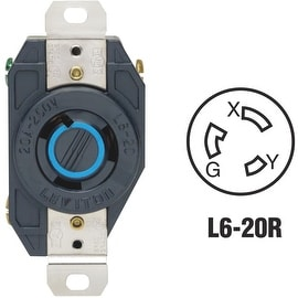 Leviton 20A Locking Outlet