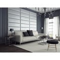 Vant Upholstered Wall Panels (Headboards) Sets of 4 - Pearl Silver - 39 Inch - Twin-King. - Thumbnail 2
