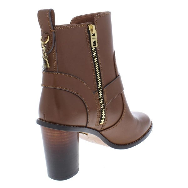 Shop Coach Womens Moto Ankle Boots