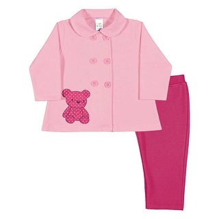 Baby Girl Outfit Coat and Leggings Infant Winter Set Pulla Bulla 3-12 Months