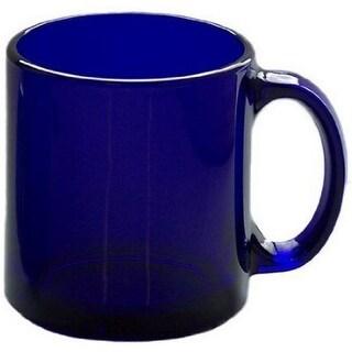 HIC 90008 Ceramic Mug, 12 Oz, Cobalt Blue
