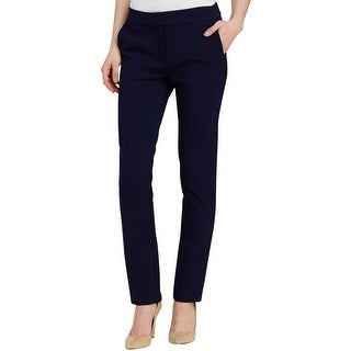 Diane Von Furstenberg Womens Dress Pants Classic Rise Regular Fit