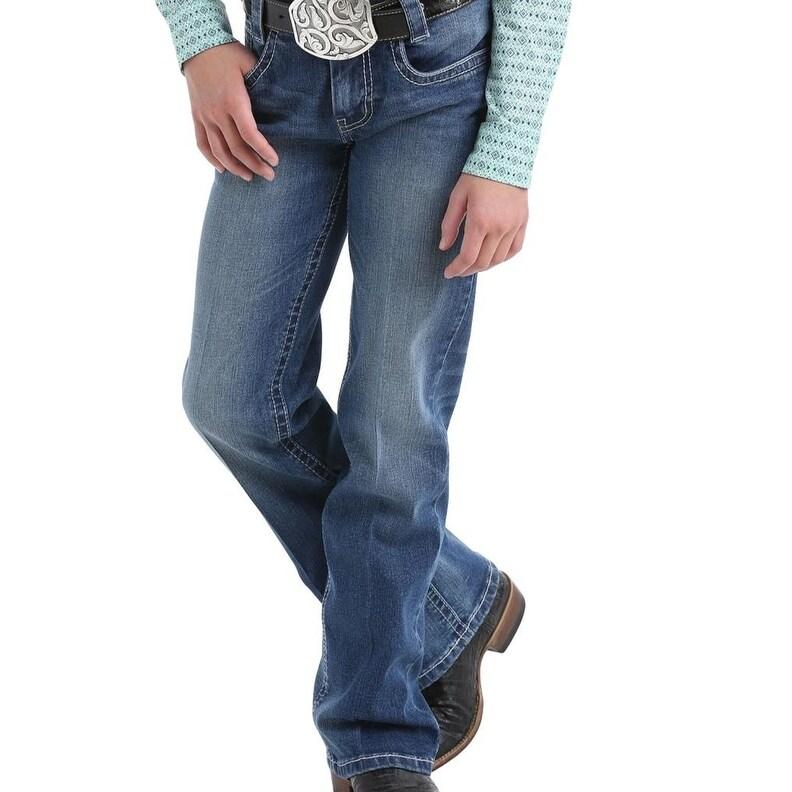 Jessica Simpson Girls Medium Wash Skinny Jean Jeans