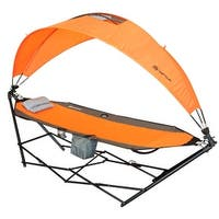 Stalwart Portable Hammock With Aluminum Frame And Carrying