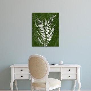 Easy Art Prints James Burghardt's 'Jewel Ferns I' Premium Canvas Art
