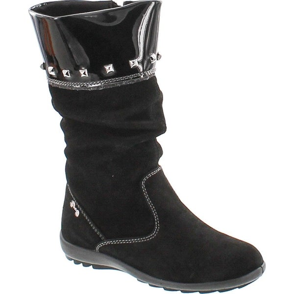 Primigi Girls Aurelia Fashion Boots - Black/silver