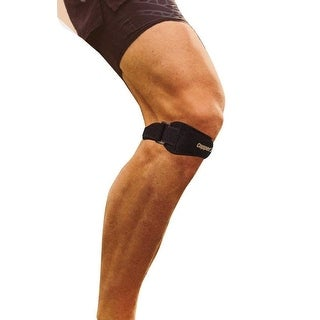 Copper1 Adjustable Compression Knee Brace - Black