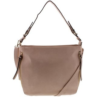 Franco Sarto Womens CAterina Hobo Handbag Faux Leather Convertible - LARGE