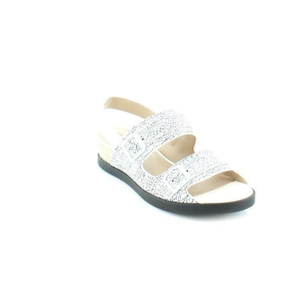 LOGO By Lori Goldstein Heather Women's Sandals White - 6