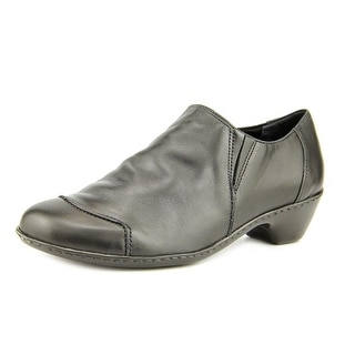 Walking Cradles Cloud Round Toe Leather Loafer