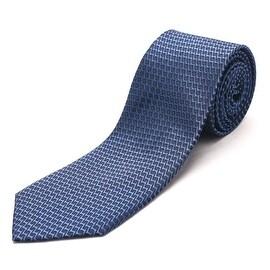 Luciano Barbera Slim Silk Necktie Navy