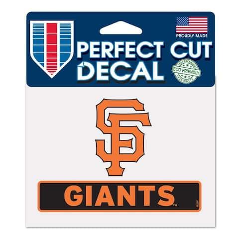 San Francisco Giants Decal 4.5x5.75 Perfect Cut Color