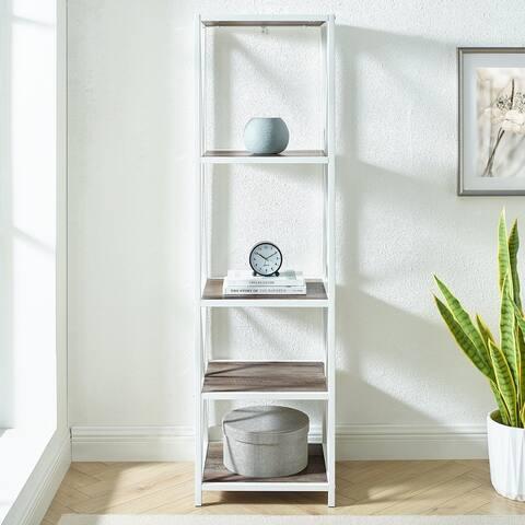Carbon Loft Hattie X-frame Tower Bookshelf