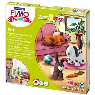 Fimo Kids Form & Play Kit-Pet
