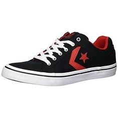 shop converse men's el distrito twill low top sneaker
