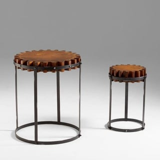 Cyan Design 4912 Gear Accent Tables