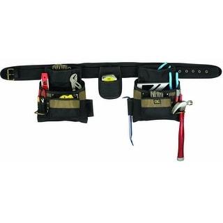 CLC 1604 4 Piece Carpenter's Combo Tool Belt, 17 Pockets, Large