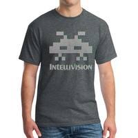 Intellivision Alien Classic Game Men's Dark Heather T-shirt